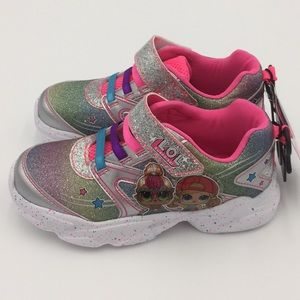 L.O.L. Surprise Girls Athletic Running Shoes Sz 13